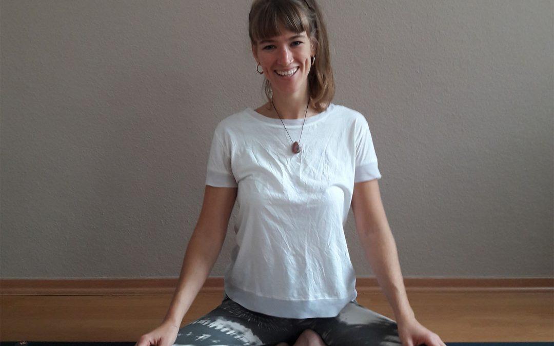 Unsere neue Yoga Lehrerin