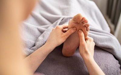 Fußreflexzonenbehandlung nach Hanne Marquardt