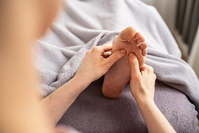 Bild Fußeflexmassage DIE PRAXIS Physiotherapie Leipzig